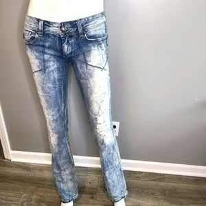 RF Rock for Express Distressed Jean's Boot Cut 4